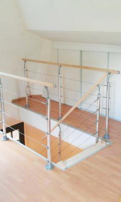 Rénovation d'escalier à Rouen